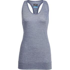 Icebreaker Nomi - Camisa sin mangas Mujer - gris